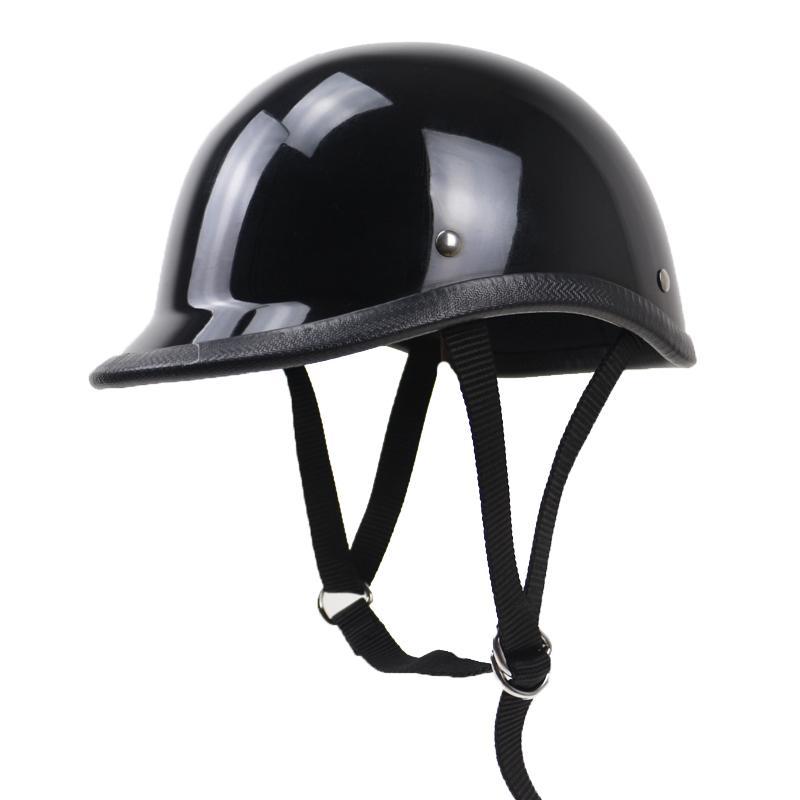 Lightweight Motorcycle Helmet >> Extra Light Weight Motorcycle Helmet No Mushroom Design Half Face Helmet Vintge For Adults Zombies Racing