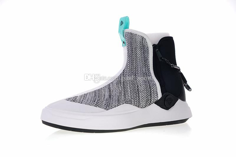 498745db5c99f Acquista 2018 Vendita Calda Diamond Supply Co. X Abyss KNIT Calzino Con  Cerniera Alta Scarpe Casual Uomo Donna Di Alta Qualità Designer Sneakers  Taglia 36 ...