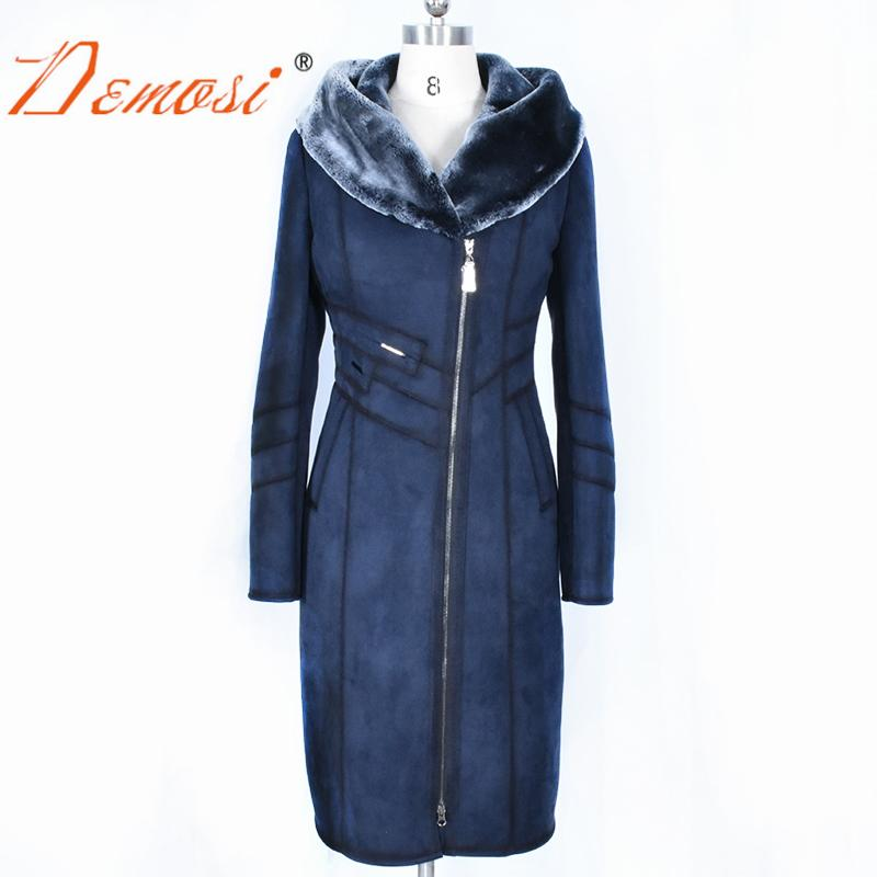 2019 Wholesale Factory Direct Supply Women S Coat Clothing Long Slim Hooded  Thick Warm Winter Suede Plush Jacket Faux Fur Coat Plus Size XS 8XL From ... c0c0b8f28