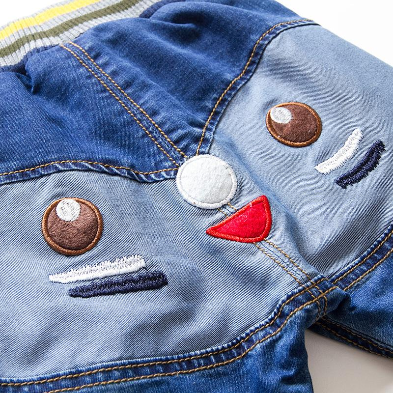 mioigee enfants hiver jeans épaississants plus vintage chaud 3-7 t nouveaux pantalons pour bébés pour garçons et filles