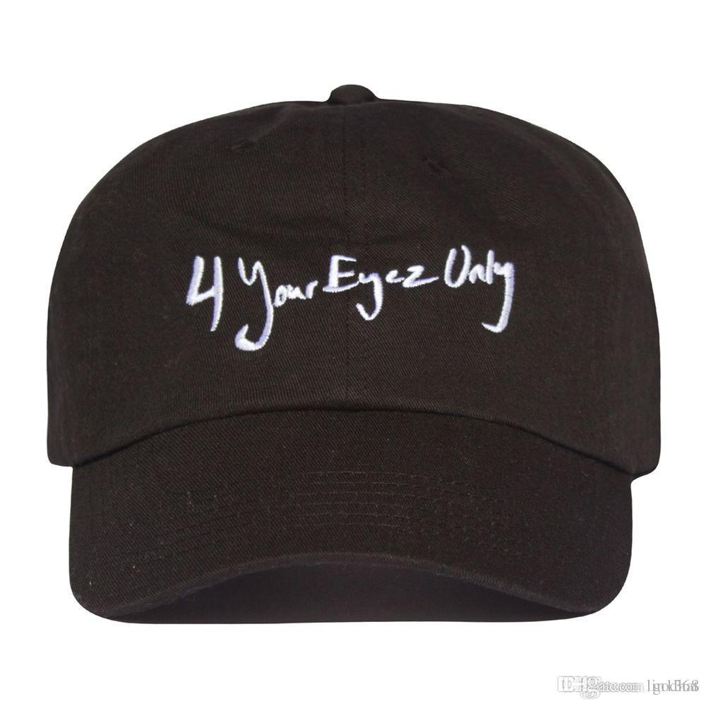 Jcole 4 Your Eyez Only Hat Dad Cap Cole World Album NYC Pop Up Baby Caps 47 Brand  Hats From Godhat 698c653441a