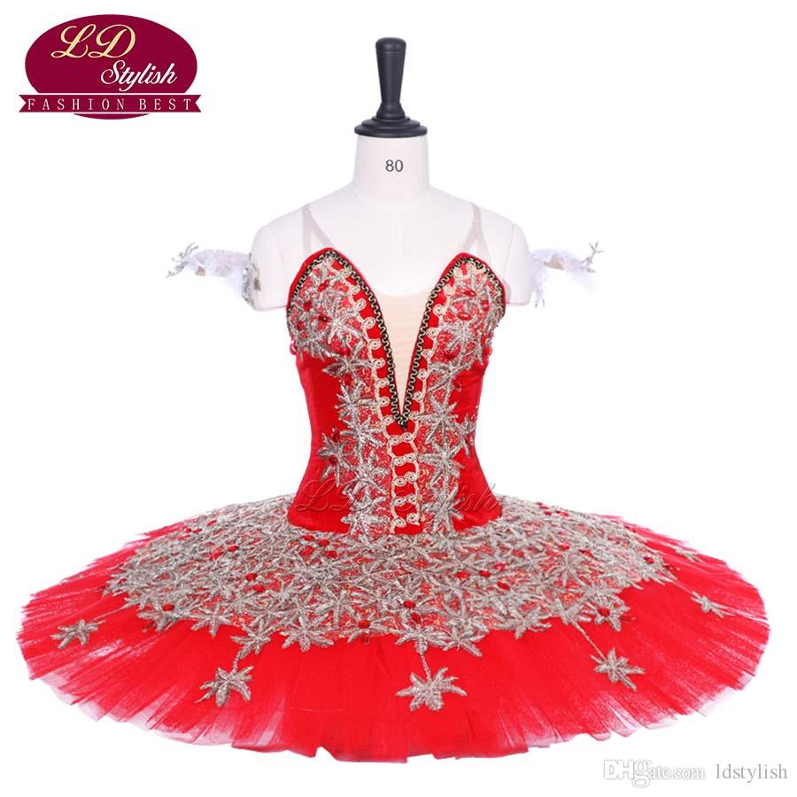 ab3b91282 2019 Adult Red Professional Ballet Tutu Costumes Green Women Red Shoes  Performance Stage Wear Girls Black Ballet Skirt Apperal From Ldstylish, ...