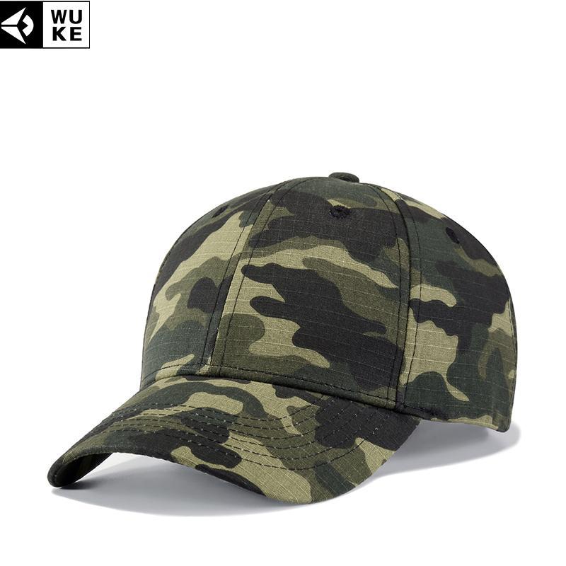 Compre WUKE Nuevo Gorras Militares Hombre Sombreros Del Snapback De Los  Hombres Gorras De Camuflaje Estilo Del Ejército Deportes Gorra De Hueso  Ajustable ... 1c0eab29901
