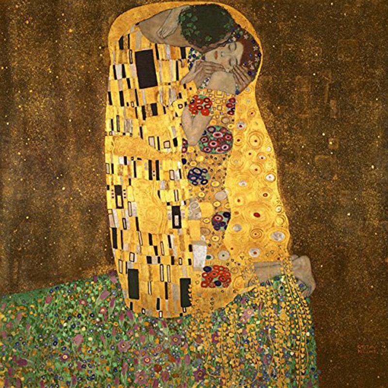 Online Cheap The Kiss By Gustav Klimt Classic Oil Paintings ...