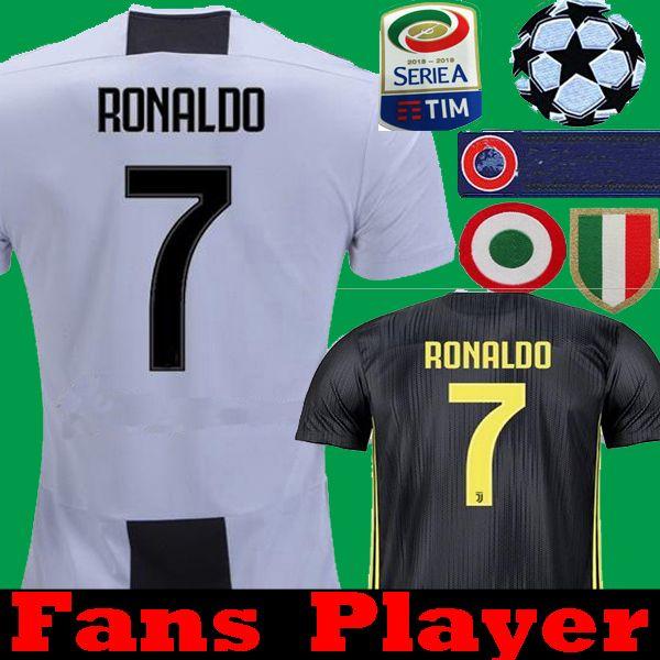 d1fd81d33 2019 Player Version Ronaldo 2019 Juventus DYBALA MARCHISIO HIGUAIN  MANDZUKIC 2018 Soccer Jerseys 18 19 Bernardeschi PJANIC Football Shirts  From Tmq0815