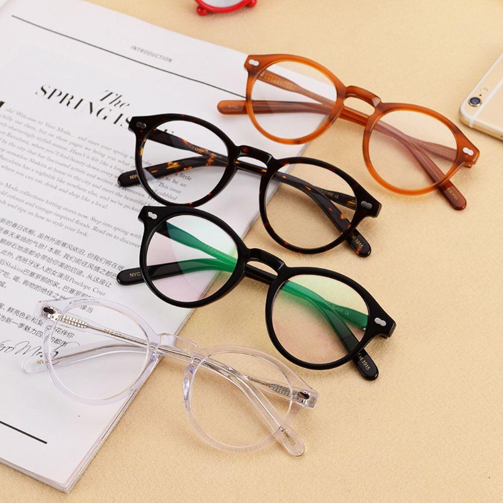 5b597d63dbe59 2019 High Quality Famous Brand Miltzen Round Eyeglasses Frame Men And Women  Retro Prescription Optical Glasses Frame Reading Glasses From Junemay