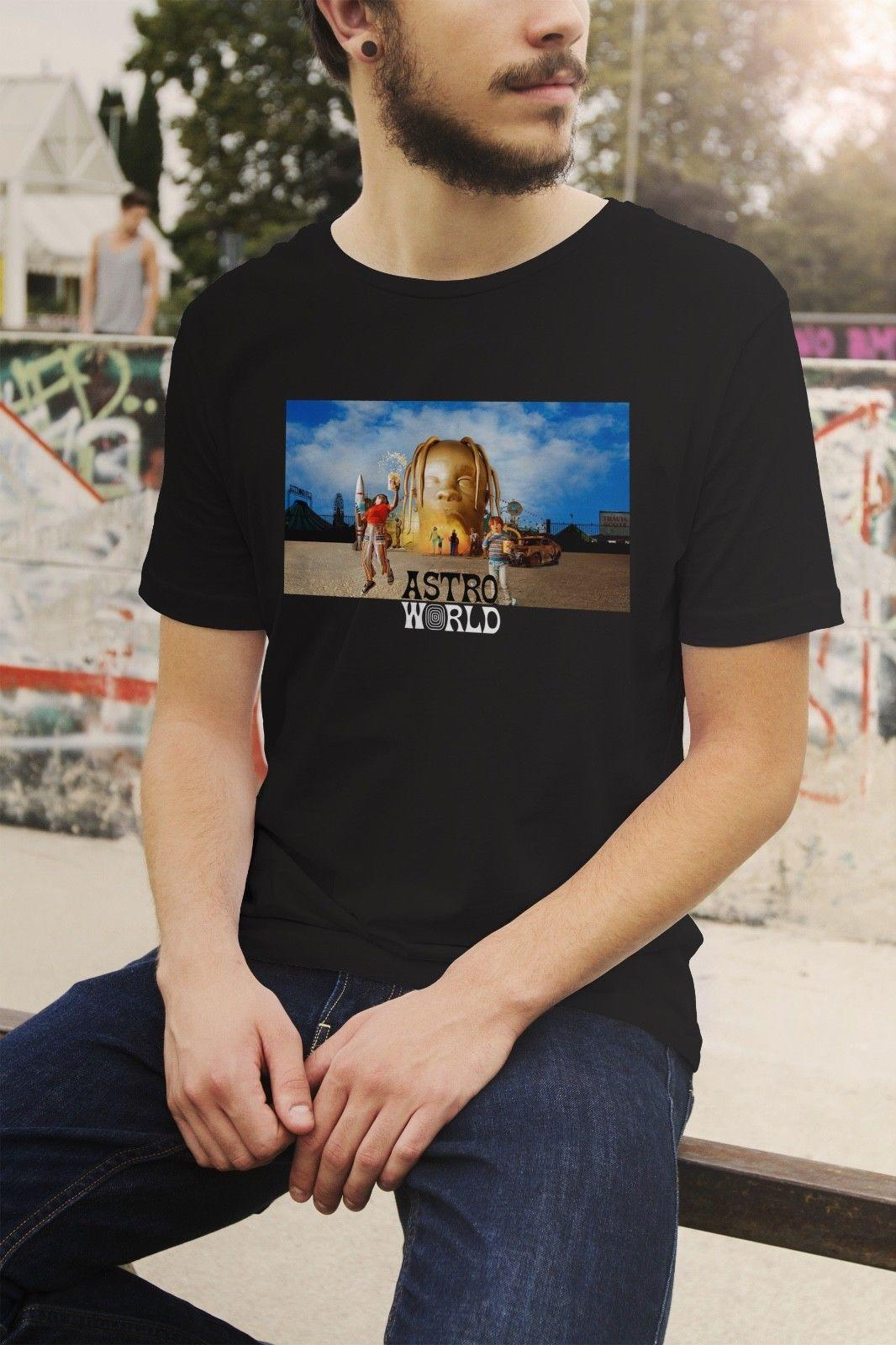 adfc4f161447 Travis Scott Astroworld T Shirt Drake Kylie Jenner Sicko Mode Merchandise  Funny Unisex Tee Awesome Cheap T Shirts Online Shopping For T Shirt From  Stshirt, ...