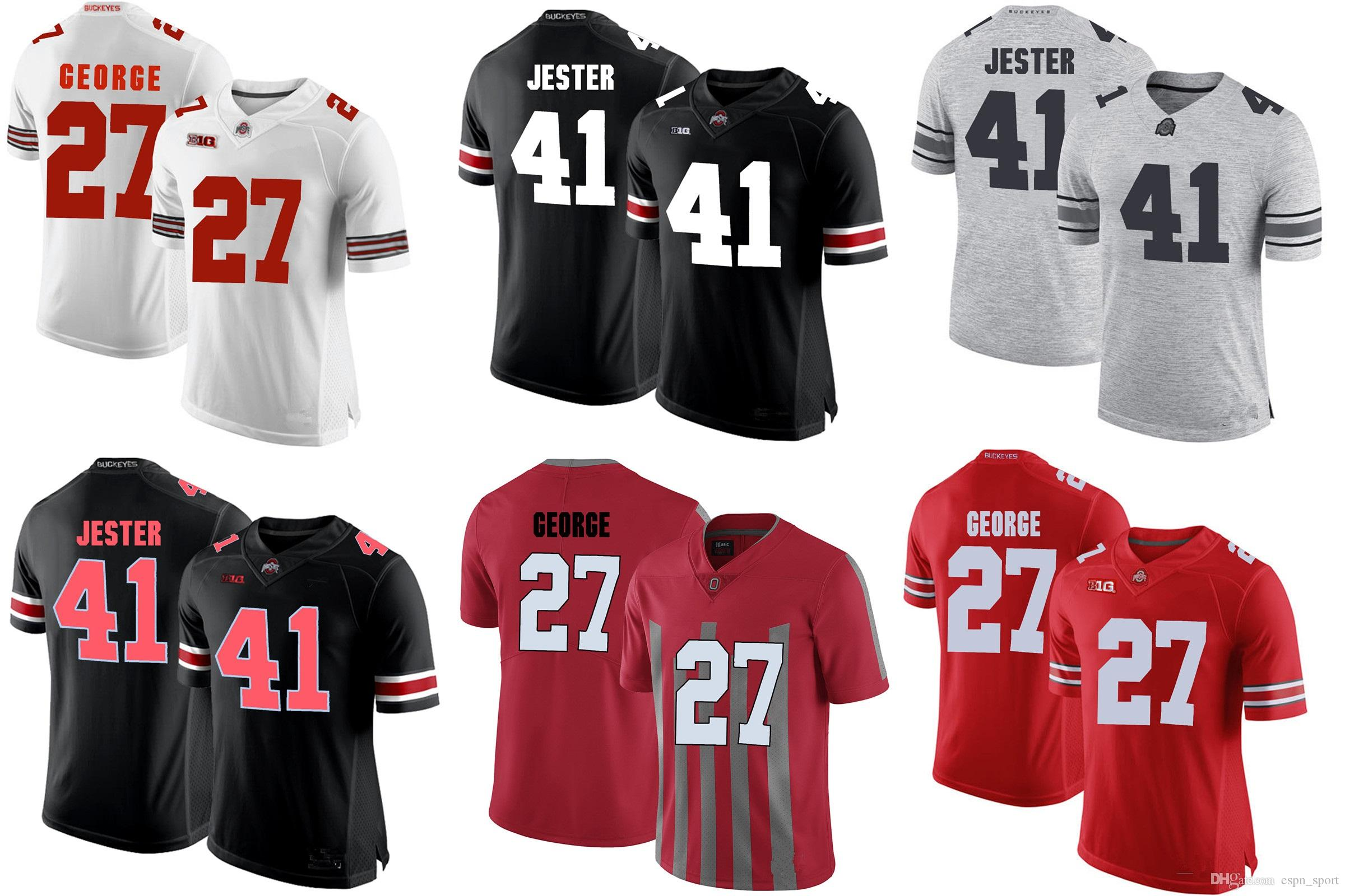 Factory Outlet- 2018 The Best Ohio State JESTER 41 GEORGE 27 College ... 36b434ceb