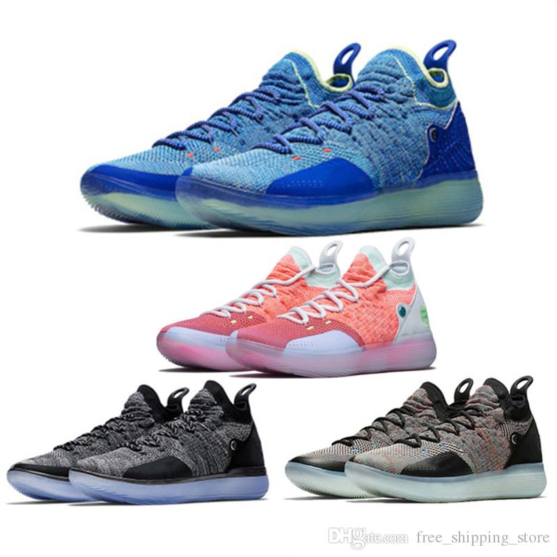 76a42a28c66e 2018 New Arrival KD 11 Mens Basketball Shoes Paranoid Still KD Men Trainers  Kevin Durant 11s Athletic Sports Sneaker Size 7 12 Women Basketball Shoes  Men ...