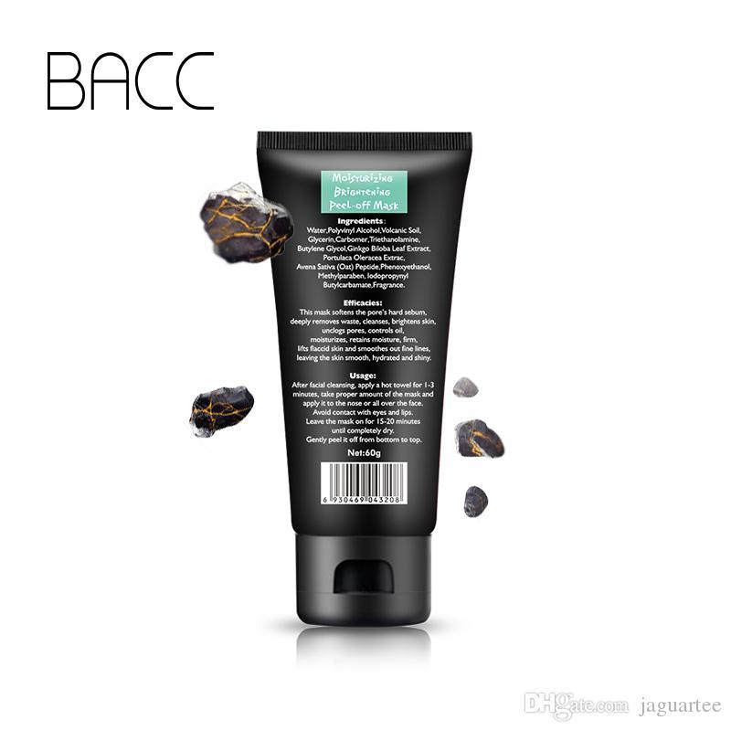 BACC Face Care Remove Blackhead Mask Shrink Pore Improve Rough Skin Acne Blackhead Remover Mask Facial Moisturizing Cream DHL