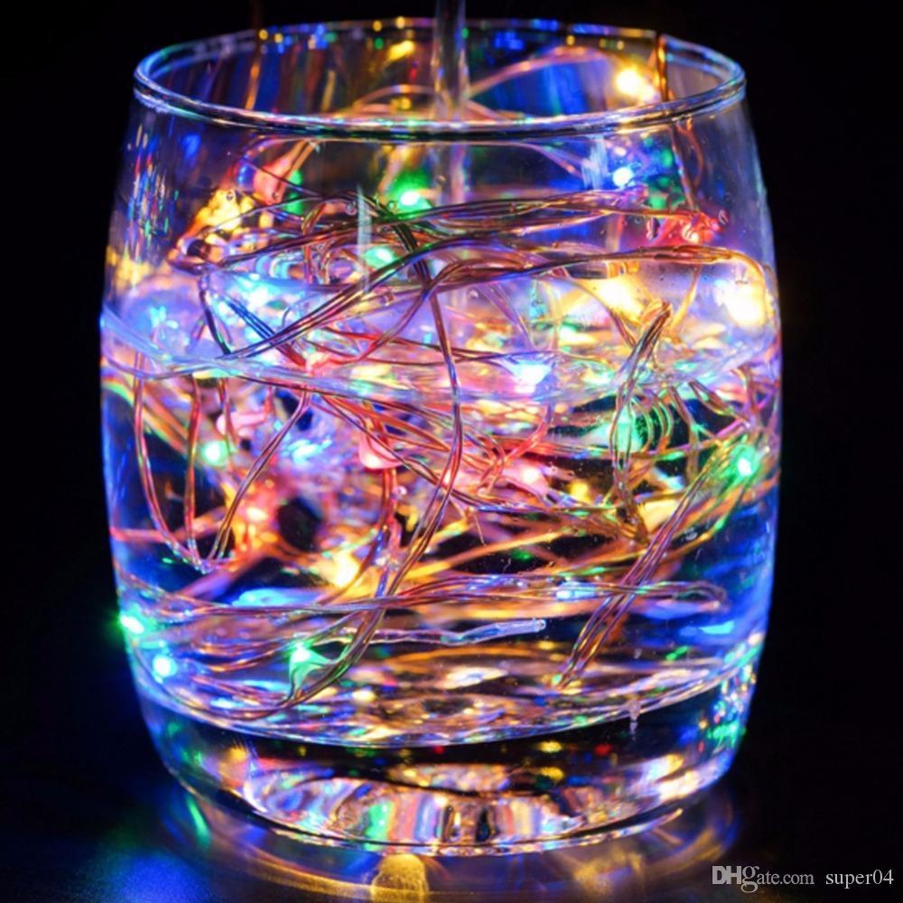 Étirage String 9 Holiday 5m Christmas Couleurs Batterie Lighting 50leds Led Lampes Éclairage À Décoratif Dc Fairy Perles 8vmn0yNwPO