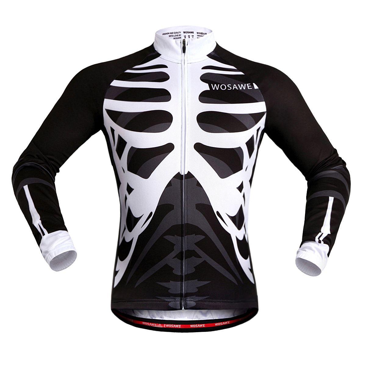 Sublimationsdruck Schnell Kleidung Für Wosawe Männer Polyester Trocknende Bike Jacke Fahrrad Jersey Sommer Form Radfahren 1TclFJK