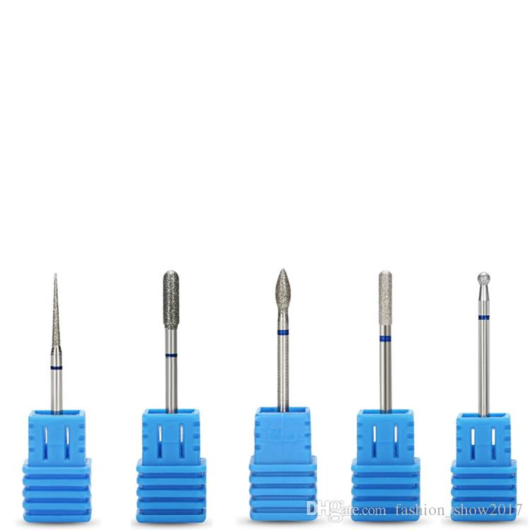 Le più nuove testine smerigliatura di punte unghie elettriche Trapano elettrico Manicure Taglierina pedicure Accessori macchine Utensili salone Lega di acciaio al tungsteno
