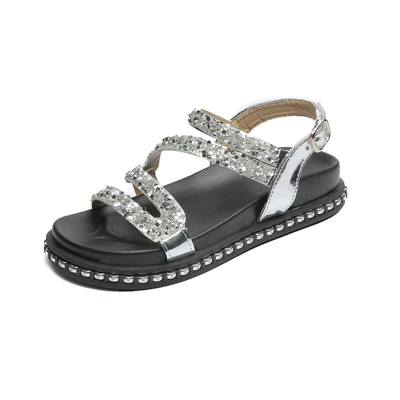 Aus Dem Ausland Importiert E Spielzeug Wort Frauen Sandalen 2019 Frauen Plattform Keil Sandalen 6 Cm High Heels Frauen Schuhe Sommer Turnschuhe Sandalia Mujer Online Shop Frauen Schuhe