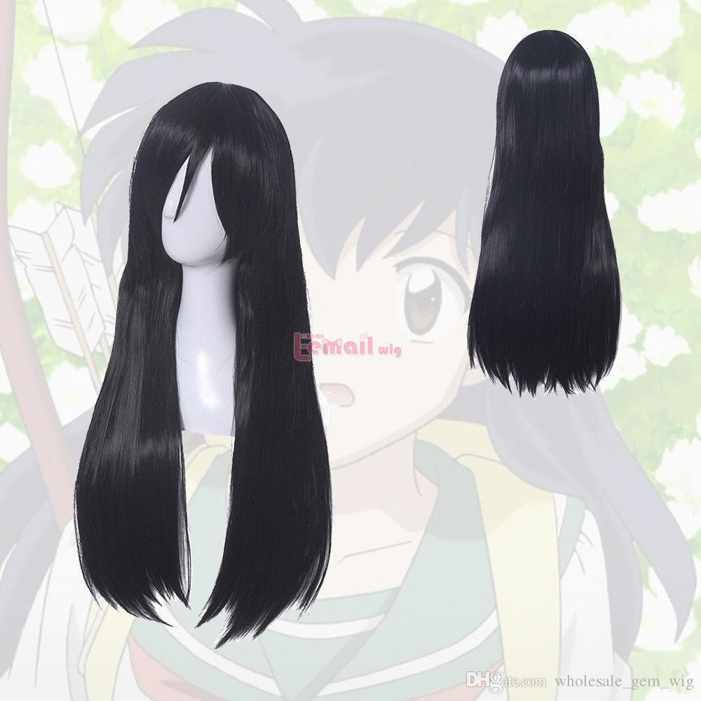 Anime Cosplay Black Hair