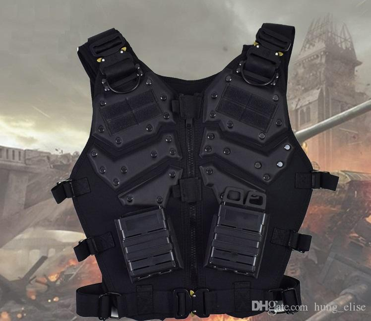 Tactical Vest Outdoor Hunting Airsoft Vest Gilet Tactique Chaleco Combat Armor paintball vest outdoor tactical clothing with magazine