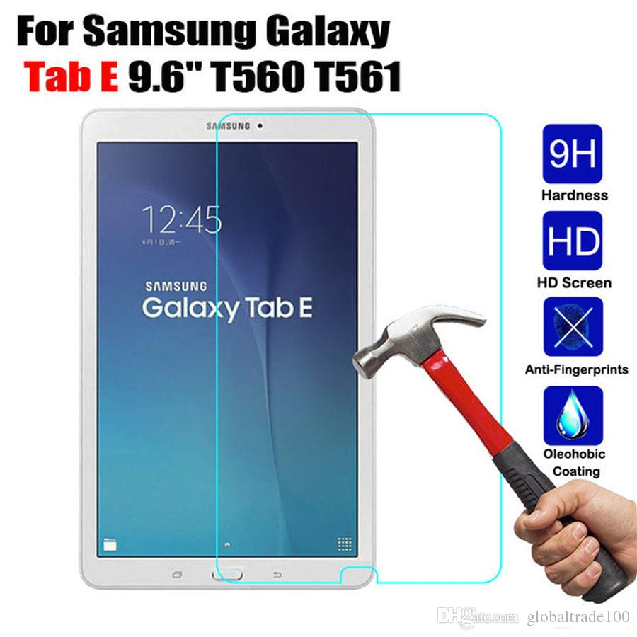 """Tempered Glass Screen Protector For Samsung Galaxy Tab E 9.6"""" SM-T560 / T561 Tab S2 8.0"""" T710 T715 Tab 2 T377 T375"""