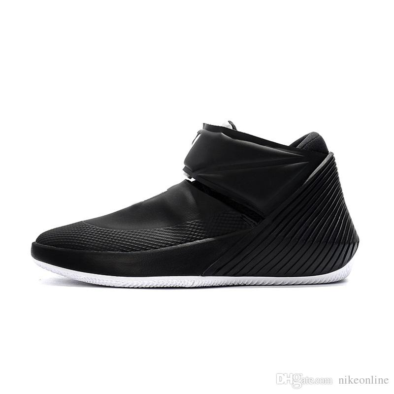 b4740f7a865f 2019 Cheap New 2018 Mens Russell Westbrook Why Not Zero 0.1 Basketball Shoes  Black Air Zoom One Jumpman Sneakers With Original Box For Sale From  Nikeonline