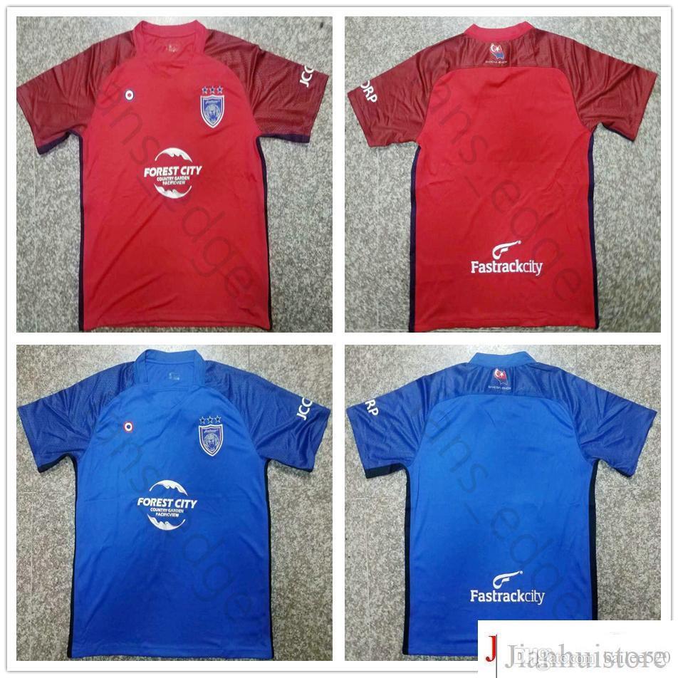 3523fa74d7a31 2018 2019 Johor Soccer Jersey Impresión Personalizada Cualquier Nombre  Cualquier Número Hombres Adulto 18 19 Camiseta De Fútbol Azul Roja Lejos  Del Hogar ...