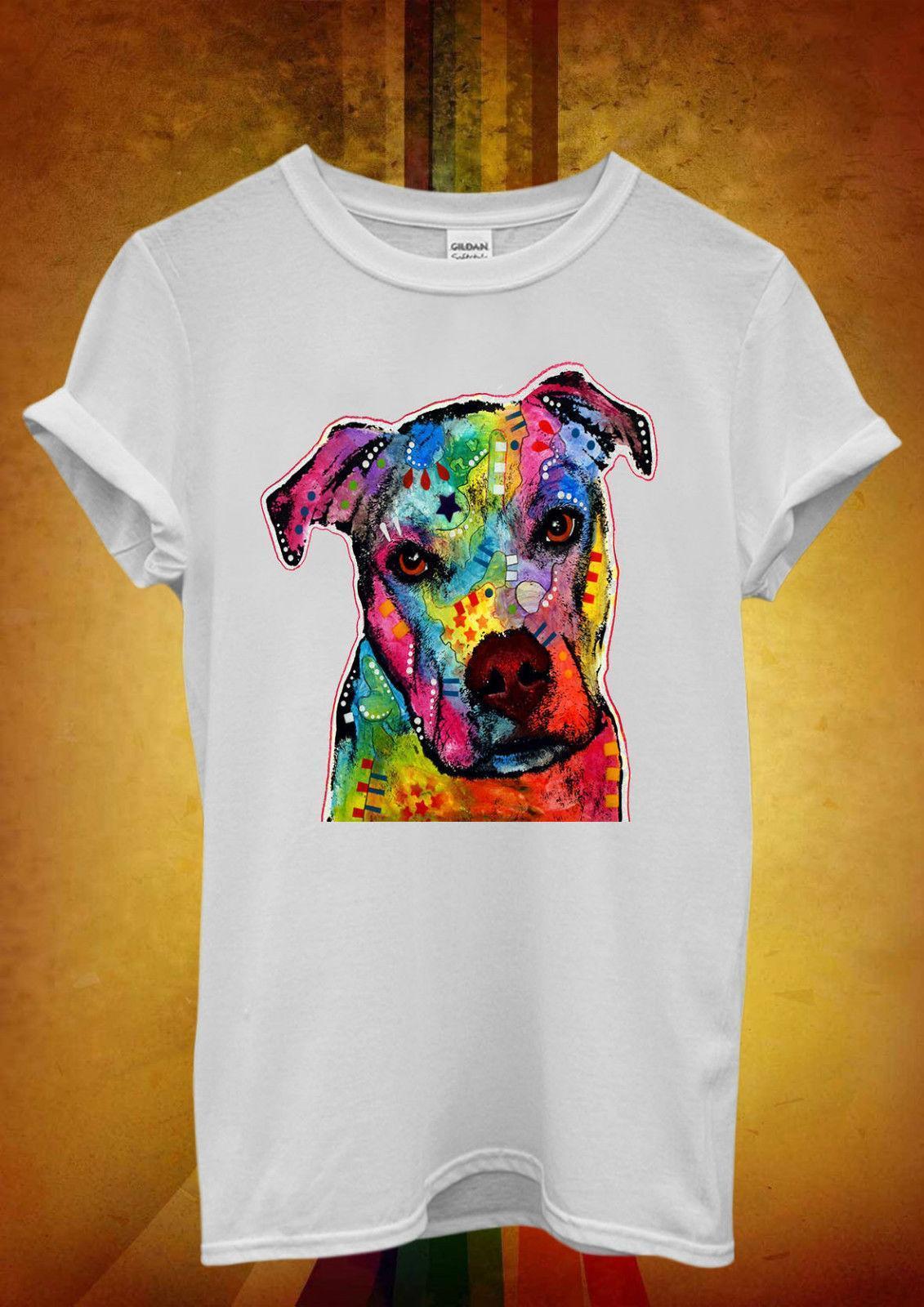 5b7e4a24c32e Dog Animal Doggie Cute Painting Art Men Women Unisex T Shirt Tank Top Vest  898 Buy T Shirt Fun Shirt From Linnan00005, $14.67| DHgate.Com