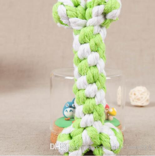 Köpek Oyuncakları yeni Kemikleri kemik halatlar evcil köpek oyuncakları Renk kemik tipi Renk kemik tipi Pet Köpek Chew oyuncak 17 cm
