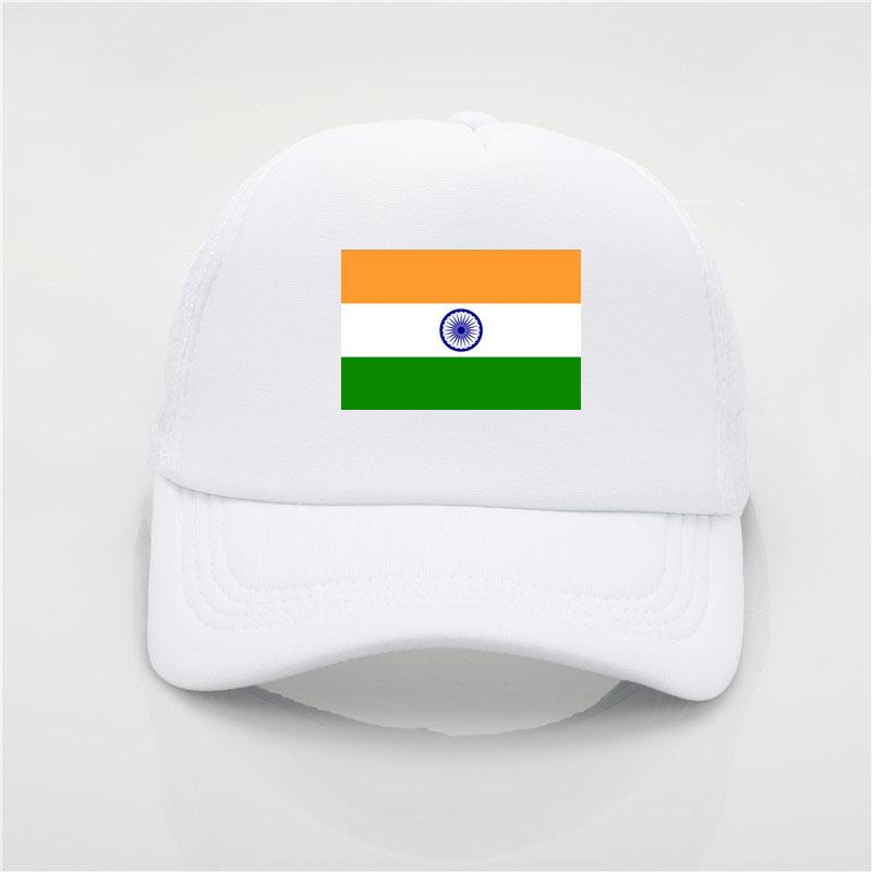 India Flag Logo Baseball Cap Patriotic Hat Sport Soccer Cheerleader ... d0b6ea52128