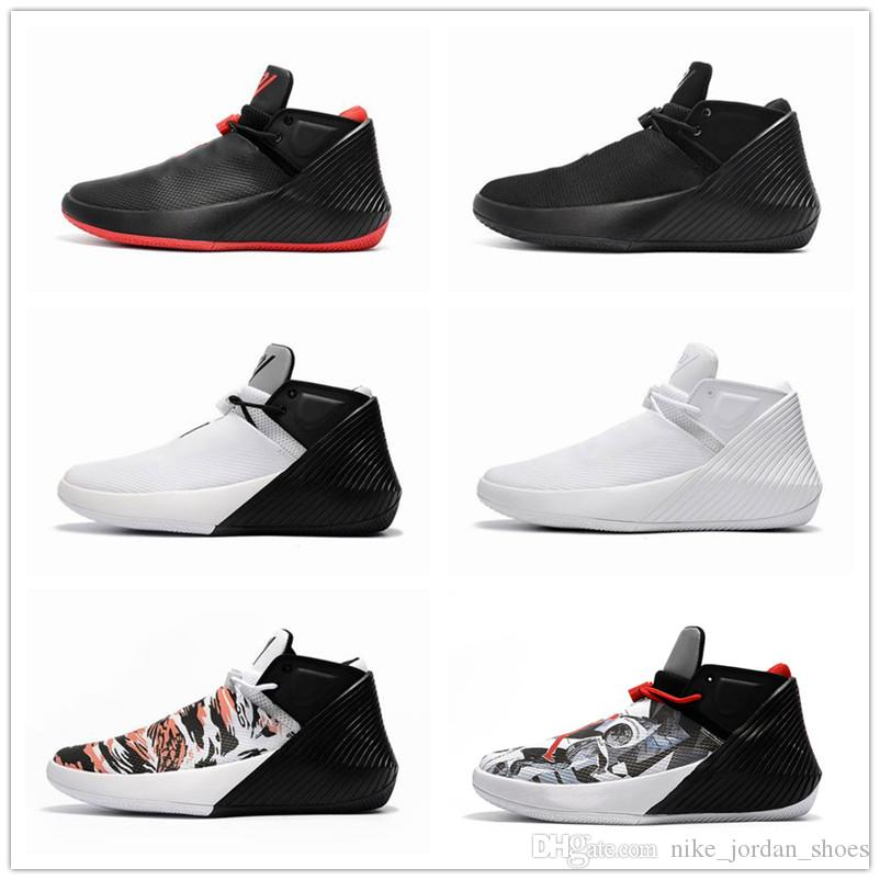01ab95442647c5 2019 2018 New Russell Westbrook Why Not Zer0.1 Mirror Image Black Bred Men  Outdoor Shoes 1s Zero One Gym Red White Sport Sneakers From  Nike jordan shoes