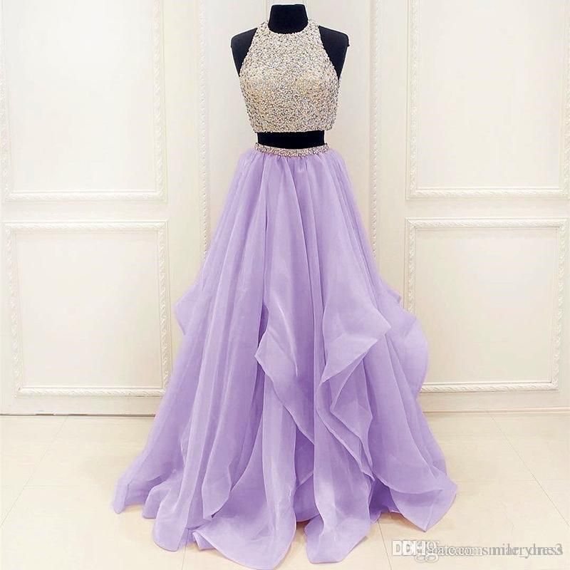 Lavender Prom Dresses A Line Crystal Beads Sash Formal Party Gown Evening  Dresses Betsy And Adam Prom Dresses Celebrity Inspired Prom Dresses From  Marryme3 4c161a31651c