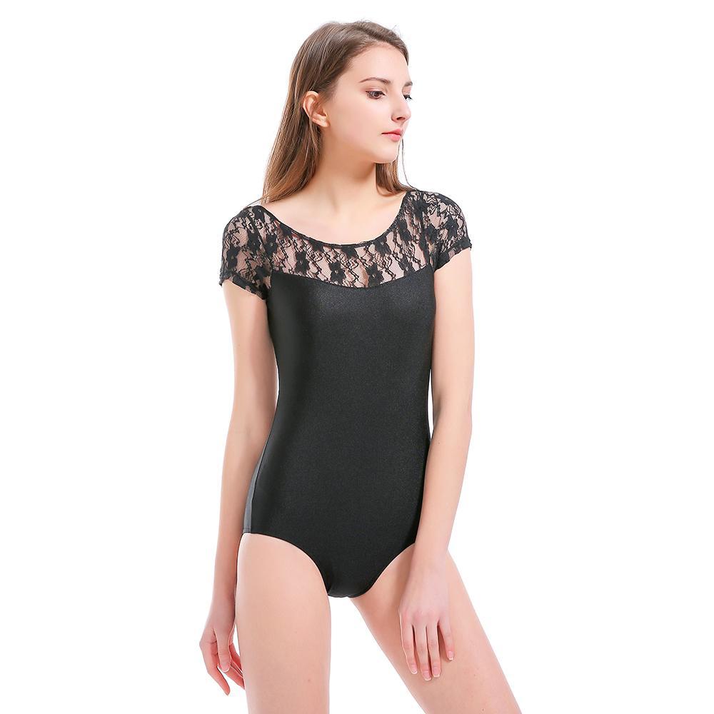 Women's Clothing Discreet Fashion Sexy Women Short Sleeve Stretch Bodysuit Ladies Leotard Body Top Clothes Summer
