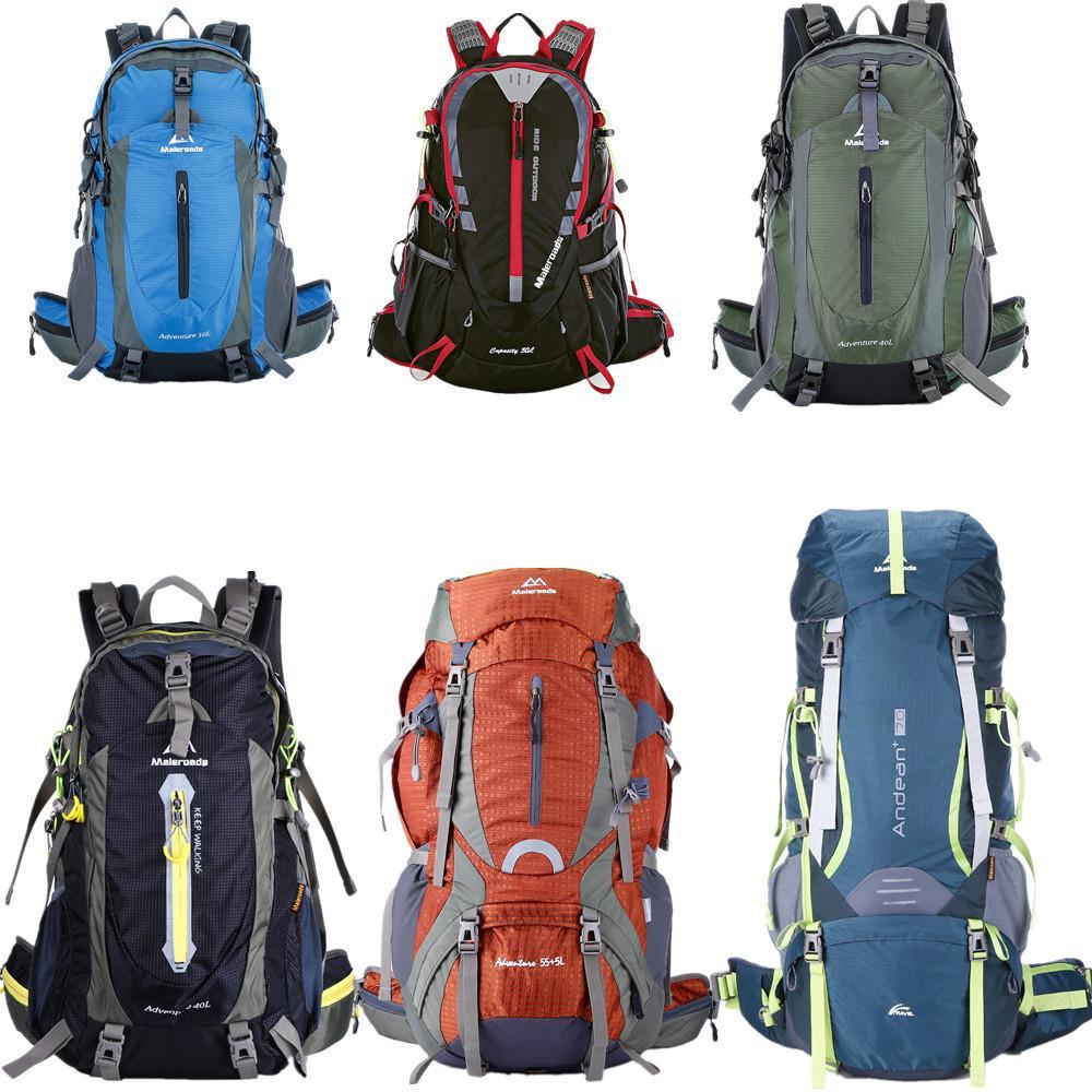 Maleroads 30L 40L 50L 60L 70L Waterproof Outdoor Backpack Nylon ... 3173f295b8