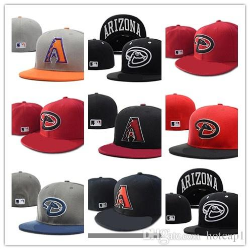 Newest Top Sale Arizona Diamondbacks Fitted Hats Mens 7daf1b093b3