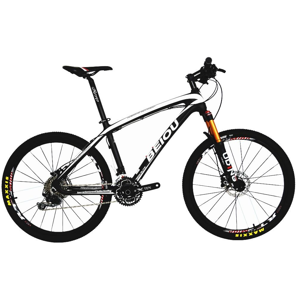 Wholesale Carbon 26-Inch Mountain Bike Hardtail Trail Bicycle 30 ...
