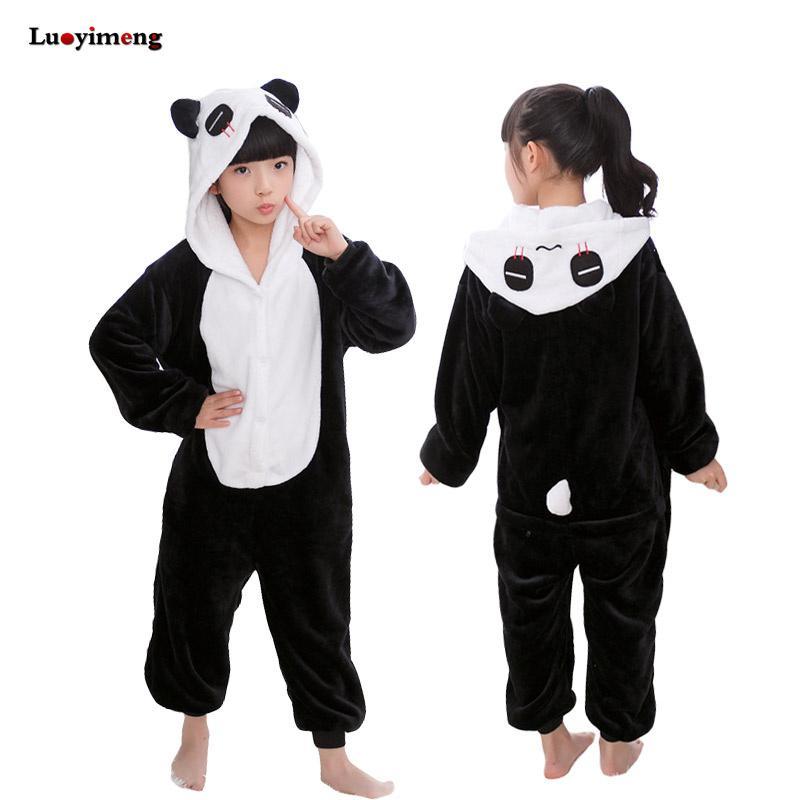a1951ff6d5 Girls Boys Clothes Star Unicorn Pajamas Winter Animal Unicorn Panda Cartoon  Pyjamas Children Kids Sleepwear Night Suit Cheap Childrens Pajamas Holiday  ...