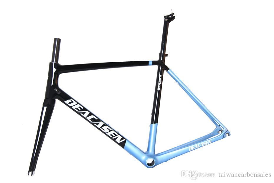 Hot Sell 2018 T1000 Ud Bicycle Carbon Road Frames With Fork Seatpost ...