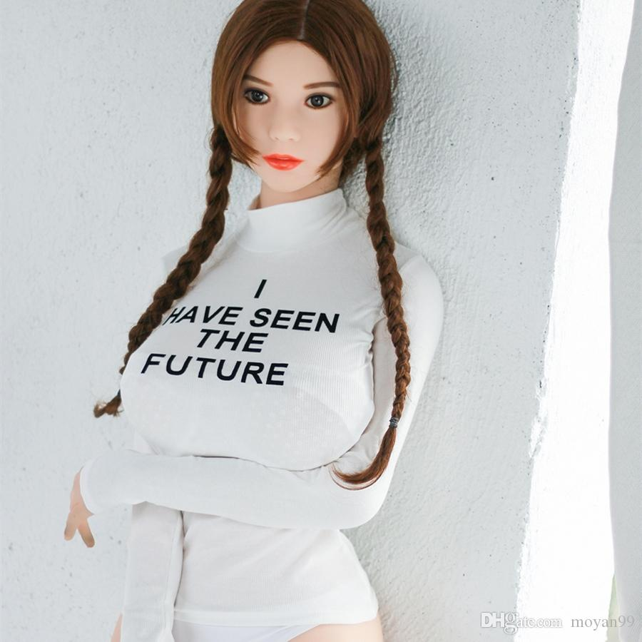 New Mold big breast sex doll 165cm Lifelike Sex Doll With Big Ass Real Male Love Toy Adult Masturbation TPE Doll - MOYAN