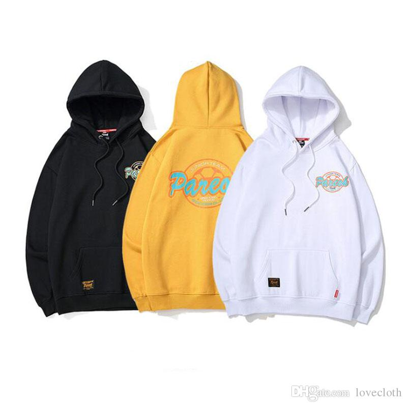 New Arrival Men Hooded Sweatshirts Trendy Printed Man Hoodies Hip Hop Autumn And Winter Thick Clothes Men's Sweatshirts