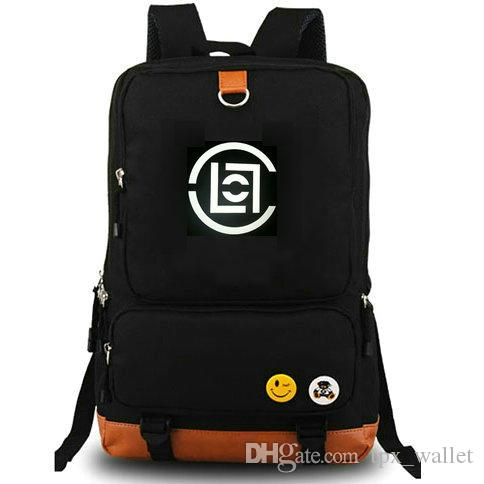 Clot Family Backpack Edison Chen Daypack Badge Nice Schoolbag Casual Style  Rucksack Sport School Bag Outdoor Day Pack Swiss Army Backpack Black Leather  ... 90d945cb9de9e