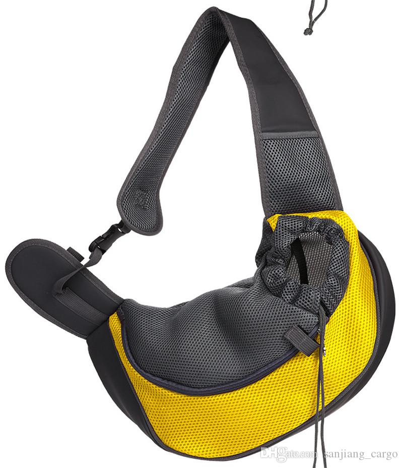 Pet щенок собака кошка перевозчик портативный сумки рюкзак открытый путешествия складной тотализатор передняя грудь сумки на ремне для мелких домашних животных