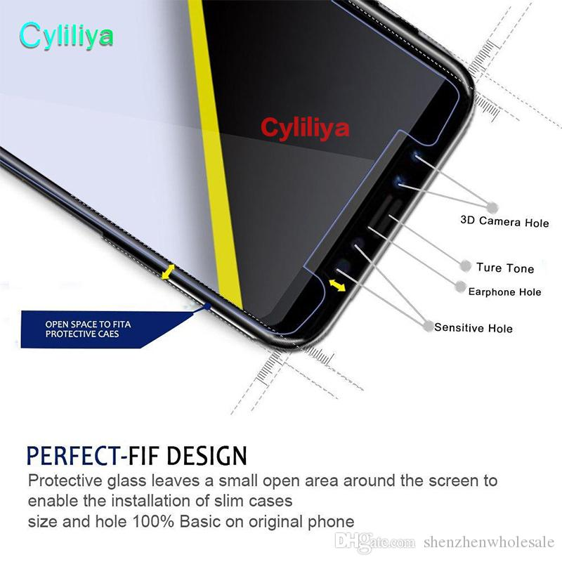 Tempered Glass For iPhone X 2.5D Anti-Blue Light Screen Protector For iPhone 6 7 8 Plus