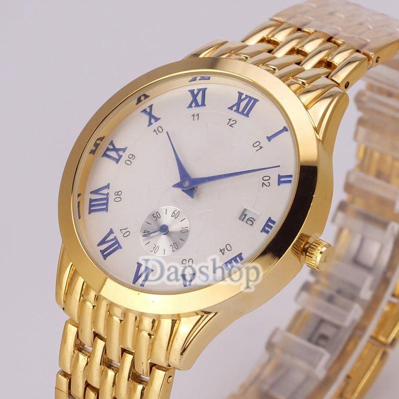9320d7662d2 Compre 2018 Novo Estilo De Moda Ladies Watch Senhora De Prata De Ouro Relógio  De Pulso Pulseira De Aço Cadeia De Luxo De Alta Qualidade Womens Watch  Relogio ...