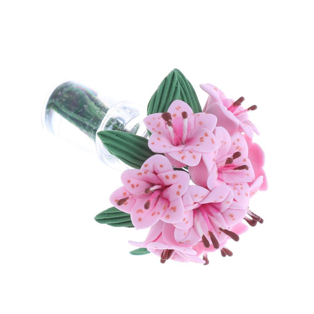 112 Dollhouse Mini Glass Flower Bottle Furniture Toy Miniatures