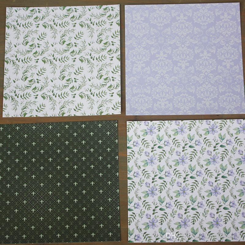 """DIY Album Photo Scrapbooking set Decorative Papers Spring comes Craft paper 6""""inch X 6"""" inch Single Side Printed"""