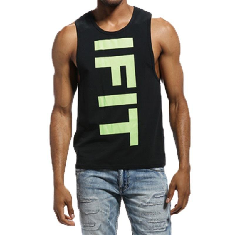 432a5b20e4a 2019 Men S Fashion Vest Cotton Tanks Tops Home Sleep Singlet Casual Solid T  Shirts Big Loose Size Casual Sleeveless Garment Waistcoat From Tbwish