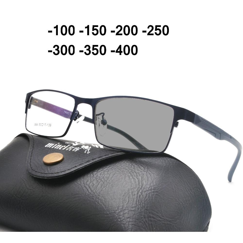 8f8f68f8ed New Sun Photochromic Retro Finished Myopia Glasses Men Women Nearsighted  Glasses Prescription 1.00 To 4.00 NX UK 2019 From Rainbowwo