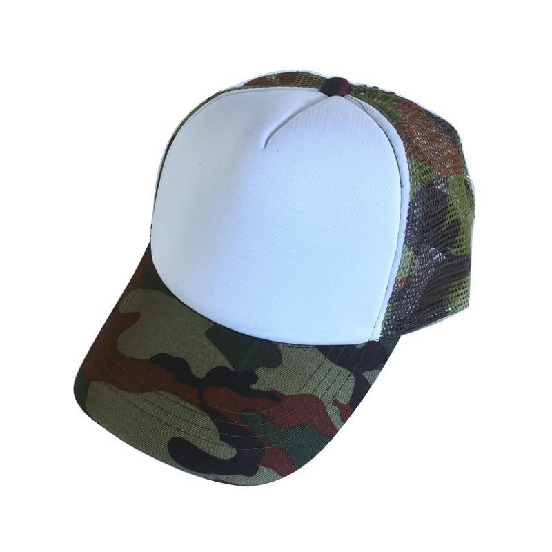 New Blank Mesh Kids Baseball Cap Fashion Summer Snapback Camouflage Hat Cap  For Boys   Girls Leisure Trucker Caps Flat Bill Hats From Zeipt dac52e3bdc6