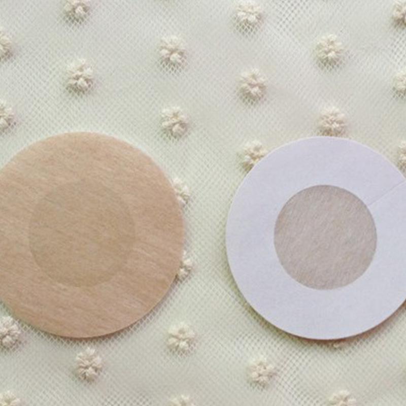 aad863925f Breast Petals Sexy Disposable Soft Nonwoven Fabrics Nipple Cover Bra ...