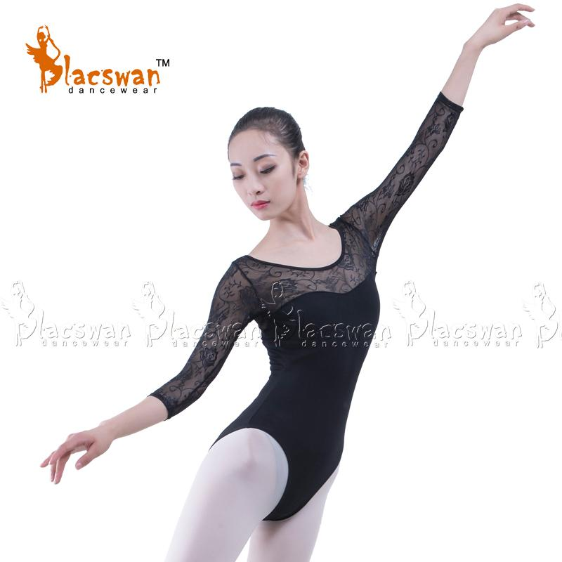 615b5cb30 2019 Girls 3/4 Sleeve Black Lace Leotard Ballerina White Lace Ballet  Leotards Adult Maroon Dancing Leotard Uniforms ZPK09 From Yuedanya, $38.35  | DHgate.Com