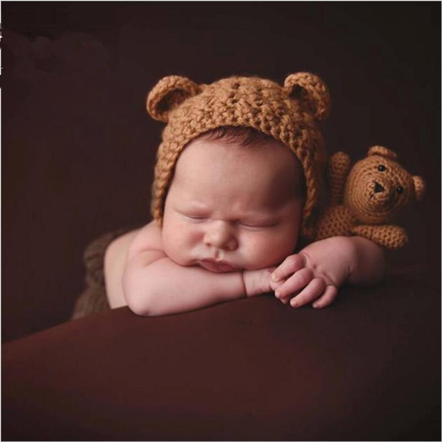 Großhandel Hüte Mit Ohren Für Kleinkinder Häkeln Frühling Kappe Von