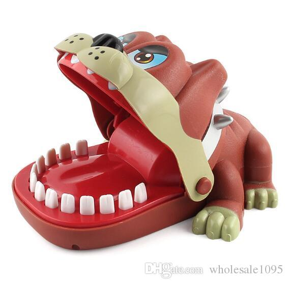 متعة اللعب التمساح الكلب الديناصورات طبيب دغة فنجر لعبة مضحك التمساح لعبة للأطفال هدية YH1178