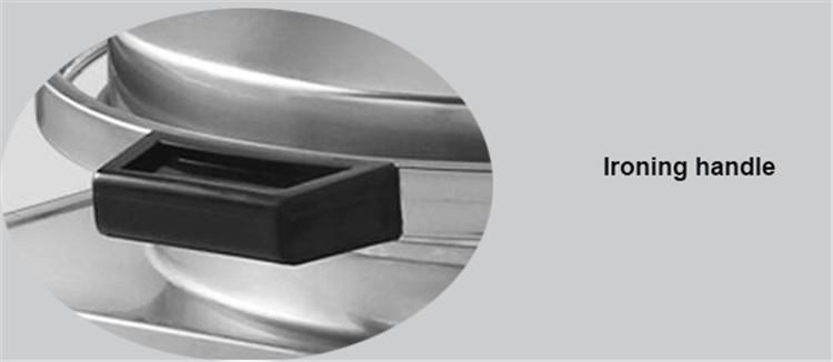 Bandeja de cozimento elétrica comercial superior de Qihang / panqueca de aquecimento dobro que faz a máquina / preço elétrico da máquina de cozimento da panqueca
